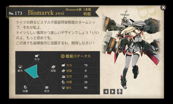 ビスマルク改二Bismarck zwei