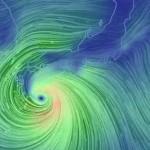 米軍が発表した台風11号の進路予想図が妙に美しい…でも精度は?