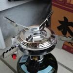 【登山&川遊びに便利!キャプテンスタッグ小型ガスバーナーコンロ】小料理・カップ麺・コーヒーを楽しめ!