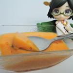【固まる不思議!柿プリン作ってみた】材料は柿と牛乳のみ!超簡単レシピのプリンが美味い
