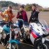 【本多春奈さん遭遇】バイク練習中にRNC西日本放送ラジオカーリポートの取材されるの巻